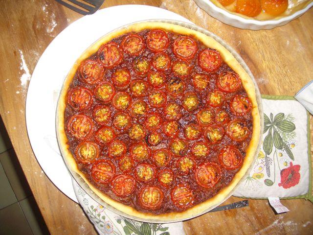 Fabrice's Triple Tomato Tart.