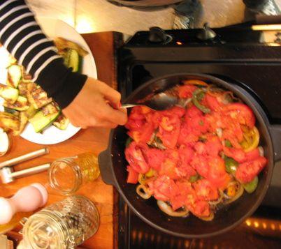 Constant basting is key in Julia's recipe.